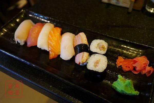 翰品酒店 品壽司 第一輪的握壽司