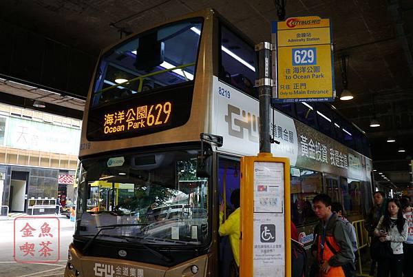 香港海洋公園629號巴士