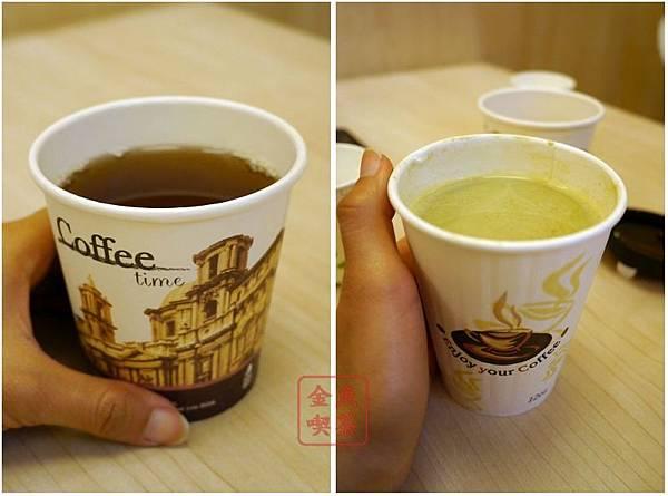 焗米 附餐麥茶及加價的抹茶奶綠