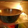 抹茶巧克力豆司康 整盆冷藏10分鐘