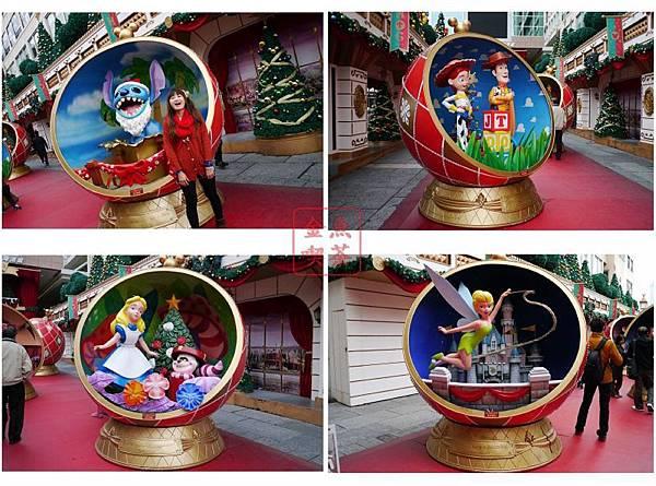 海港城 迪士尼聖誕擺飾