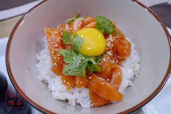 大西屋おおにしや サーモンユッケ丼 鮭魚Yukke丼