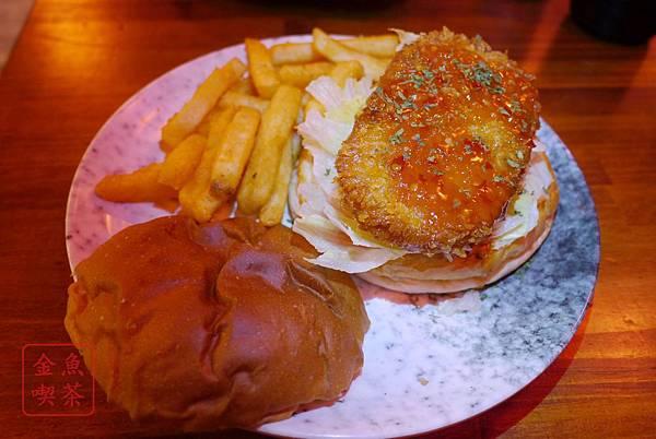 大俠愛吃漢堡堡 泰式極品鮮蝦堡-天殘腳系列