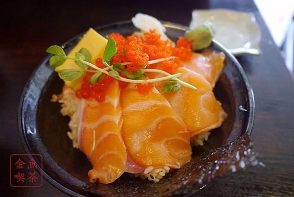 漁樂 鮭魚親子丼