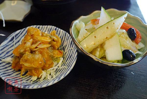 漁樂 小菜跟沙拉