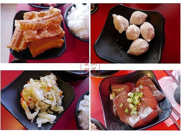 老先覺麻辣窯燒鍋(府前店) 老油條 水晶餃 梅子泡菜 滷鴨血