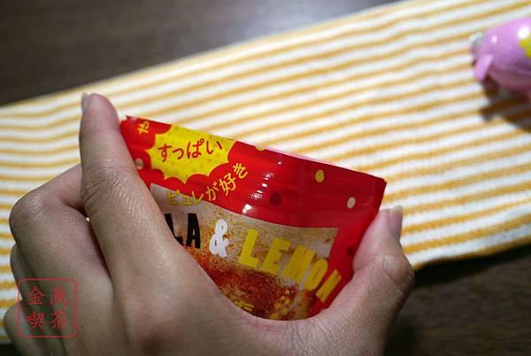 甘樂鮮果實軟糖 檸檬可樂口味 夾鏈袋設計