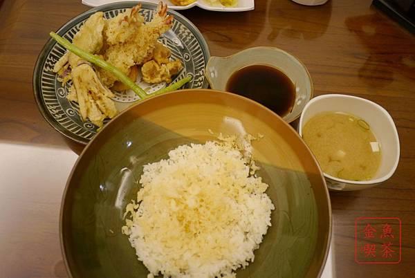 菘禾日式創意料理 天丼