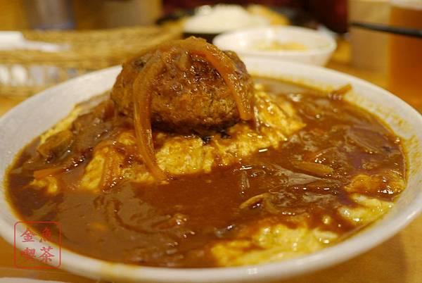 森本日式和風洋食堂 漢堡排蛋包飯-多明格拉斯醬