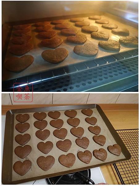 巧克力棉花糖夾心餅乾 烘烤