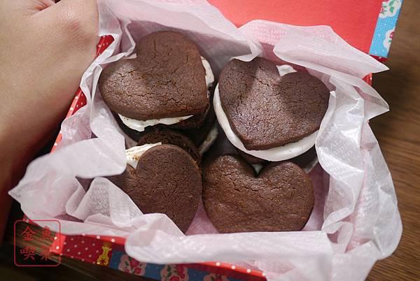 巧克力棉花糖夾心餅乾