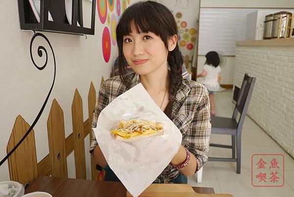 日安。鳥日子 韓式煎吐司(海苔肉鬆/豐盛版)