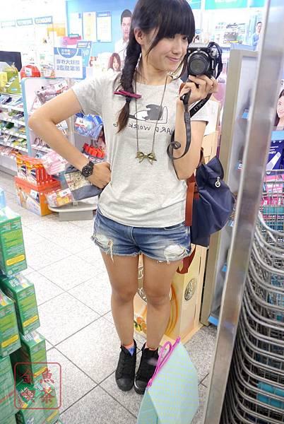 Lativ 馬來貘Cherng 女生M號實穿 對鏡拍