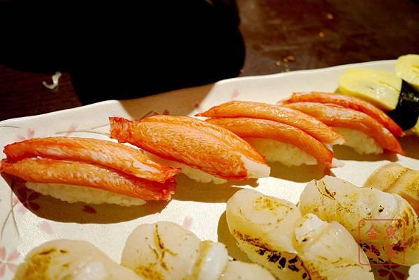 関ヶ原 蟹肉握壽司