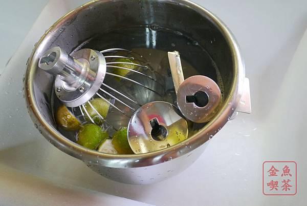 小林12L桌上型攪拌機 熱檸檬水先泡