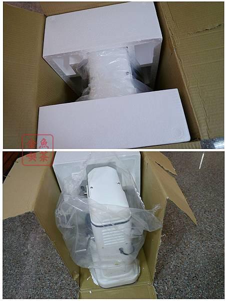 小林12L桌上型攪拌機 從箱子拖出來