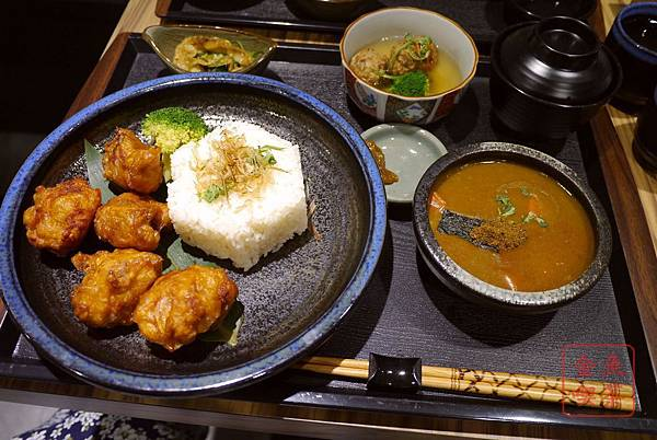 庵六花 京都濃咖哩專賣 雞唐揚咖哩原味辛口