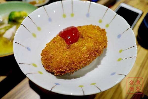 庵六花 京都濃咖哩專賣 毛豆可樂餅