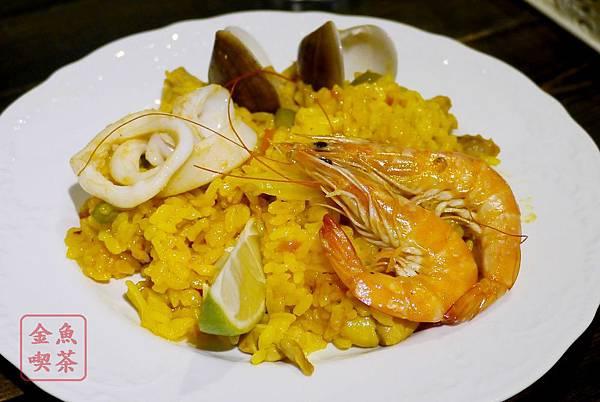 Cafe Hermosa 艾爾摩莎 西班牙海鮮飯