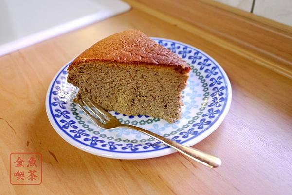 咖啡輕乳酪蛋糕 開動