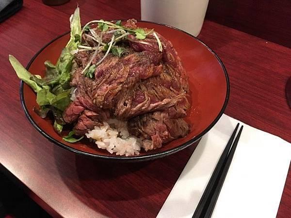 神戸ローストビーフ KOBE ROAST-BEEF ステーキ丼