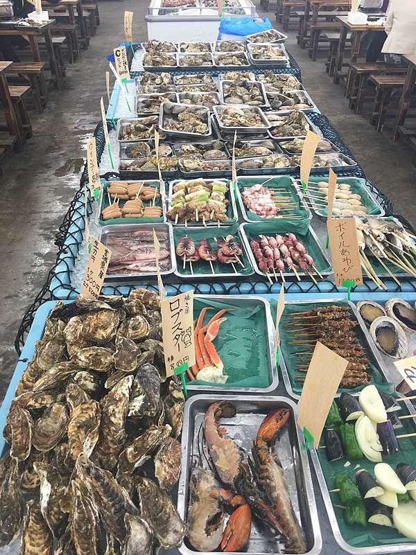 小屋 大洗 牡蠣