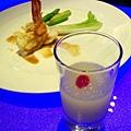 檸檬雪泡與太平洋明蝦