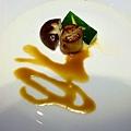 香煎干貝佐蜂蜜芥末醬