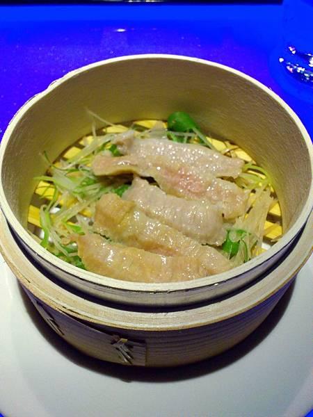 松阪豬排三吃-清蒸