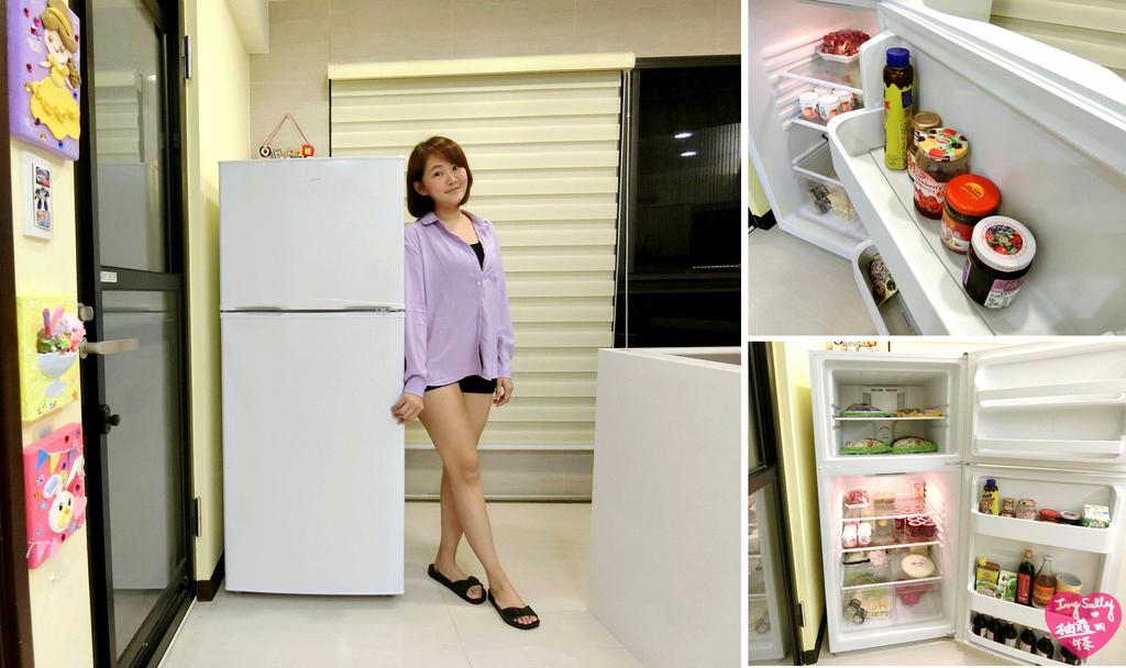 美國富及第雙門冰箱
