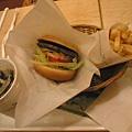 野菜牛肉堡