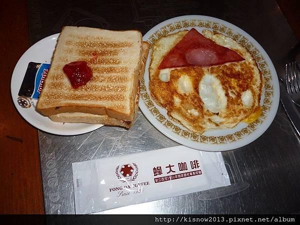 蜂大10-土司與煎蛋.JPG