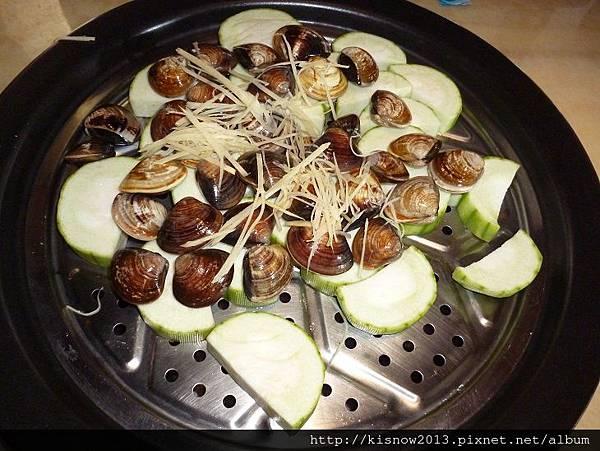 海之味30-蛤蜊和絲瓜.JPG