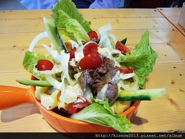 茶咖控19-牛肉鮮蔬沙拉.JPG