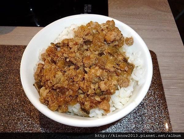 覓精緻鍋物33-瓜仔肉飯.JPG