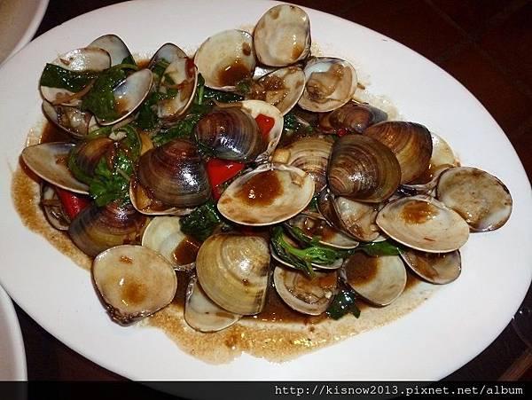 活蝦37-蠔油蛤蜊.JPG