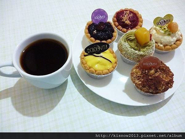 多茄米拉26-小塔配咖啡.JPG
