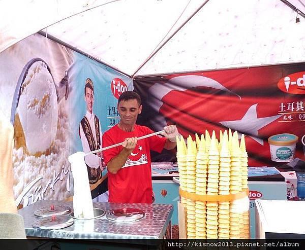 歐風嘉年華33-土耳其冰淇淋.JPG