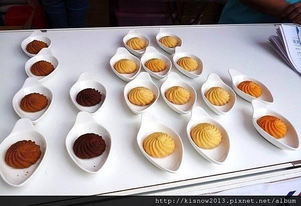 歐詩太糖28-現場展示餅乾.JPG