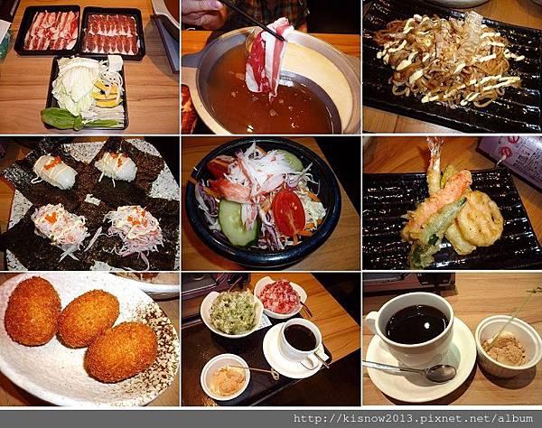 和食上都14-肉盤與菜盤 (2).JPG