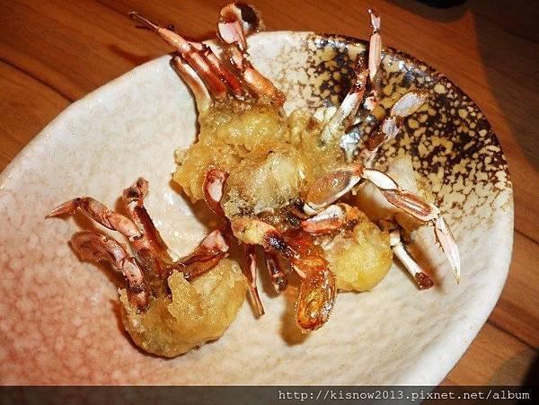 和食上都24-酥炸小花蟹.JPG