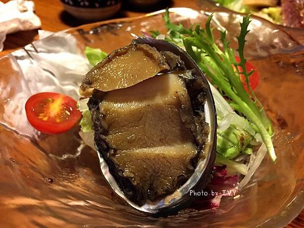 桀壽司 磯煮鮑魚沙拉