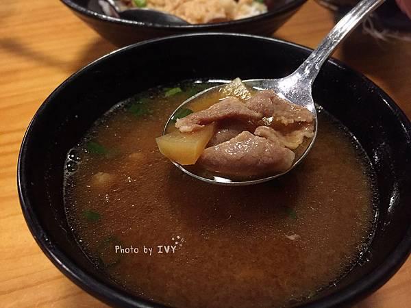 次男日食料理製作所  豬肉赤味增湯