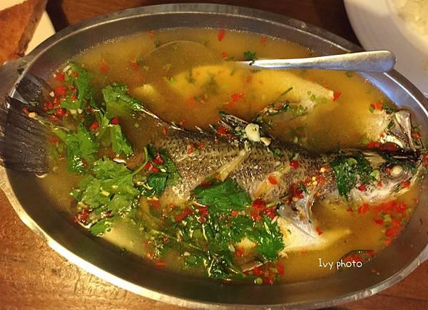 新泰城 泰味清蒸檸檬魚