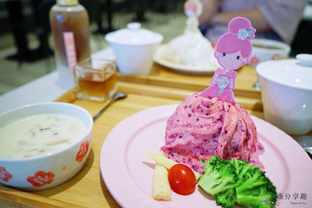 茉莉公主蛋包飯 || 台中北屯五目坊的隱藏版裙擺公主風蛋包飯,親子友善和家庭聚餐餐廳