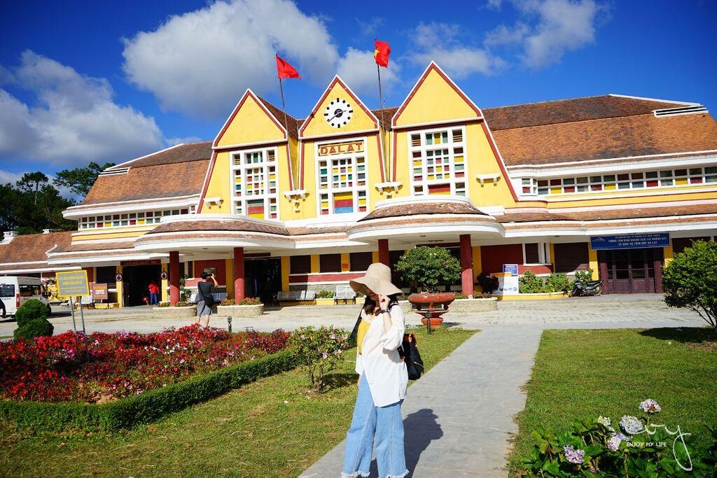 越南 大叻火車站 Dalat Railway Station
