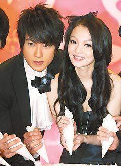 飛輪海吳尊和張韶涵主演八大「公主小妹」.