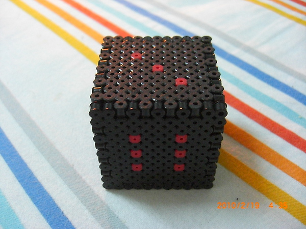 黑色骰子.JPG