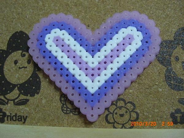 愛心(外框是夜光紫噢)‥80$.JPG