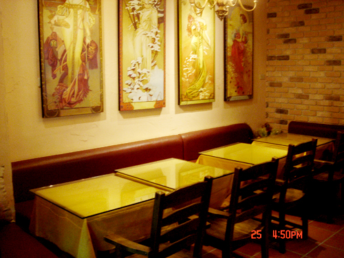 浪漫咖啡廳